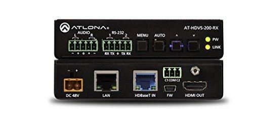 Atlona AT-HDVS-200-RX - AT-HDVS-200-RX Ethernet-Enabled HDBaseT Scaler with HDMI and Analog Audio Outputs Atlona Hdmi Digital Kabel