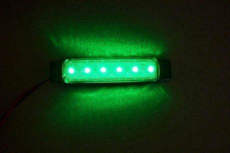 10 x LED 24 V rosso posteriore outline-Luci per rimorchio caravan Camion