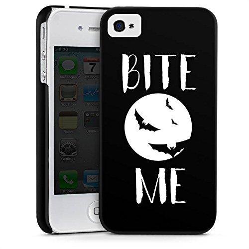 Apple iPhone SE Silikon Hülle Case Schutzhülle Halloween Fledermaus Vampire Premium Case glänzend