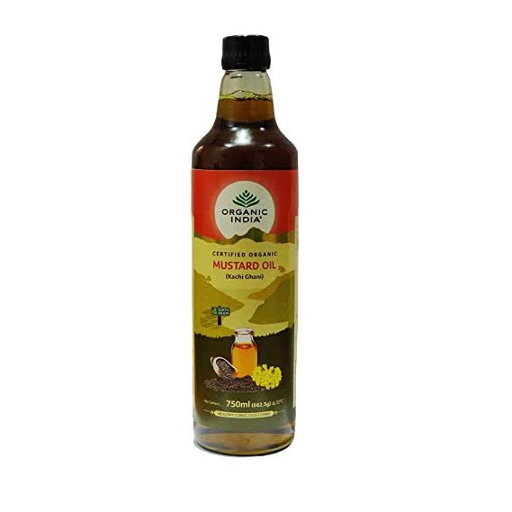 Organic India - Mustard Oil 750ml ( Pack of 2 )