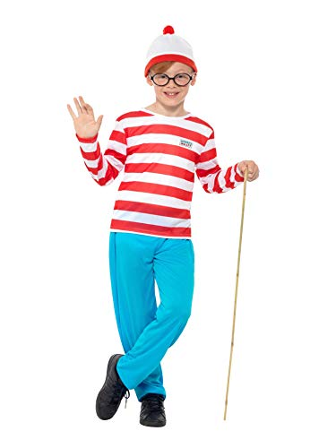 Where's Wally Boy's Costume - Ages 4 to 14 years