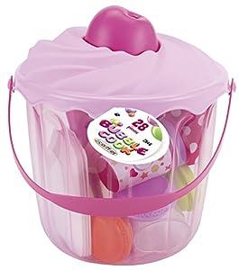 Ecoiffier 4552646 Kitchen & Food Juguete de rol para niños - Juguetes de rol para niños (Estuche de Juego, Cocina y Comida, Niño/niña, Multicolor)