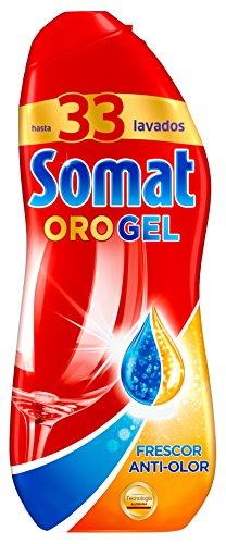 Kammer-gel (Somat Gold Spülmaschinen Gel/ AntiGeruch/ 33 Spülladungen/ 675ml/ Spülmaschinenreiniger)