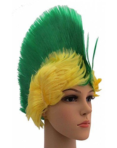 Kostüm Party Russland - Sonia Originelli Perücke Irokese IRO Kopfbedeckung