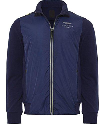 hackett-herren-sweatshirt-amr-nylon-front-blau-navy-595-medium
