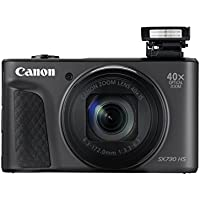 Canon PowerShot SX730 HS Digitalkamera (20,3 MP CMOS-Sensor, 40 fach Zoom, Full HD, WLAN/Bluetooth, 7,5 cm (3 Zoll)) schwarz