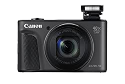 Canon Powershot Sx730 Hs Digitalkamera (20,3mp Cmos-sensor, 40 Fach Zoom, Full Hd, Wlanbluetooth, 7,5 Cm (3 Zoll)) Schwarz