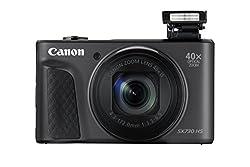 Canon Powershot Sx730 Hs Digitalkamera (20,3mp Cmos-sensor, 40 Fach Zoom, Full Hd, Wlanbluetooth, 7,5 Cm (3 Zoll)) Schwarz