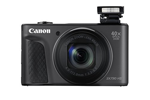 Canon PowerShot SX730 HS - Cámara Digital DE 20.3 MP (Video Full HD, WiFi, Bluetooth) Negro