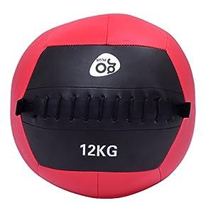 FDS Goplus Wall Ball Medizinball Gewichtsball Gymnastikball Rehaball Fitnessball Slamball 4-12kg