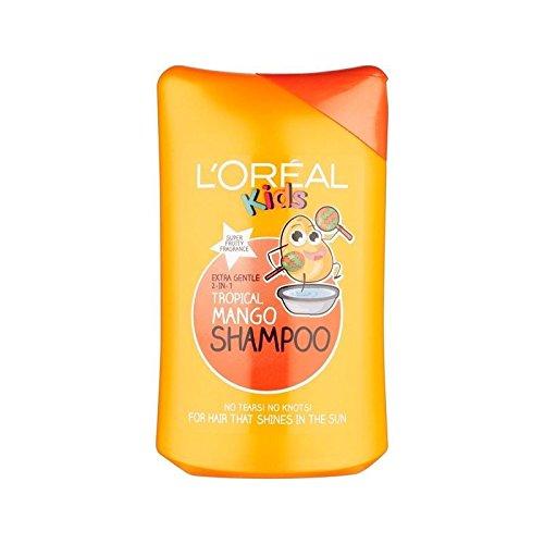 L'Oréal enfants Tropical Mango Shampoo 250ml-Lot de 6