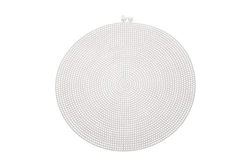 Darice 33027 Canevas Cercle, Plastique, Transparent, 24,13 x 24,13 x 0,03 cm