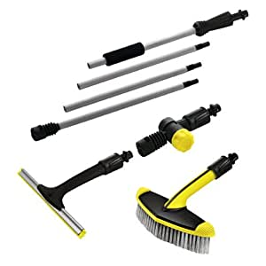 k rcher window and conservatory cleaning set pressure washer accessory old version amazon. Black Bedroom Furniture Sets. Home Design Ideas