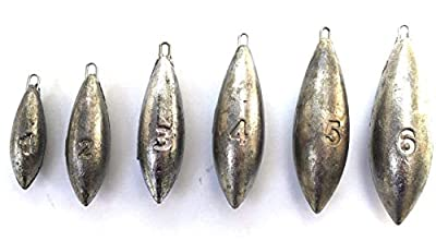 BZS Beach bomb sea fishing weight sea weights 1oz, 2oz, 3oz, 4oz, 5oz or 6oz (pack 10) from BZS