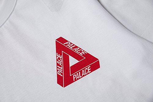 BOMOVO Herren PALACE Premium T-Shirt Weiß