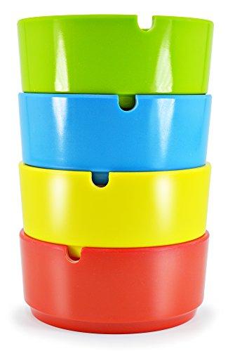 posacenere-portacenere-in-plastica-rotondo-4-pezzi-4-colori-insieme-azzurro-rosso-giallo-verde-senza