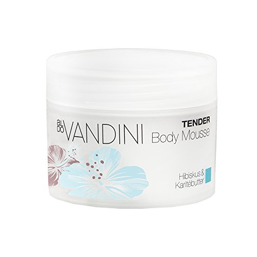 (aldo VANDINI Tender Body Mousse - Bodybalsam, Körpermousse parabenfrei & vegan 4er Pack(4 x 70 ml))