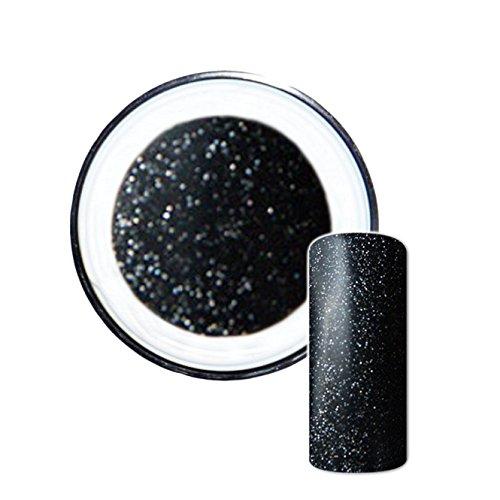 Glitzergel Farbgel Glitter UV-Gel No. 7 schwarz 5ml