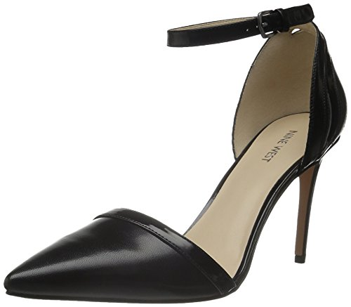 Nine West Timeshare Leather Pump Dress Black/black