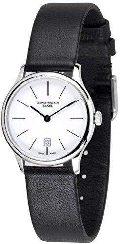 Zeno-Watch Orologio Uomo - Flat Bauhaus Quartz - 6494Q-i2