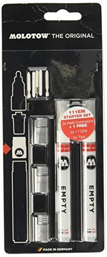 Molotow Refill Extension 111 EM (Nachfüllhilfe Starter Kit) Blisterkarte