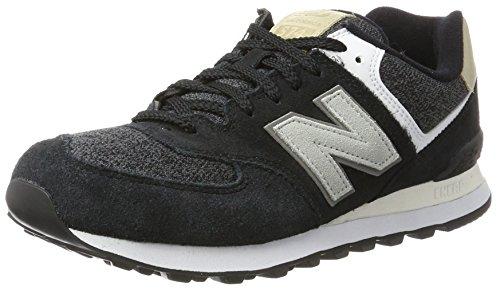 New Balance, Herren Sneaker, Schwarz (Black), 44 EU (9.5 UK)