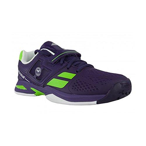 Babolat-Propulse tutte le Wimbledon, Scarpe da Tennis, colore: viola Bianco