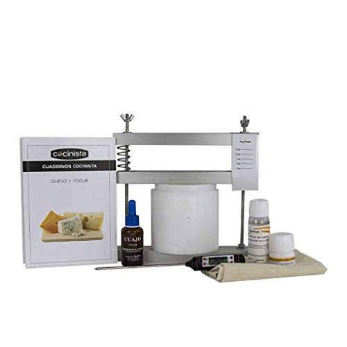 Cocinista Kit para Hacer Queso manchego
