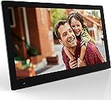 NIX Advance Marco Digital Fotos y Videos 17 Pulgadas Full HD. Pantalla IPS. Calendario, Reloj. Auto on/Off. Rotación automática. 8GB USB Incluido