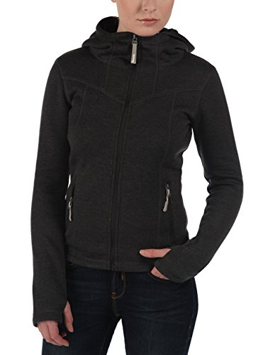 Bench Damen Jacke Strickjacke Firecrackleb schwarz (Blackmarl) Small