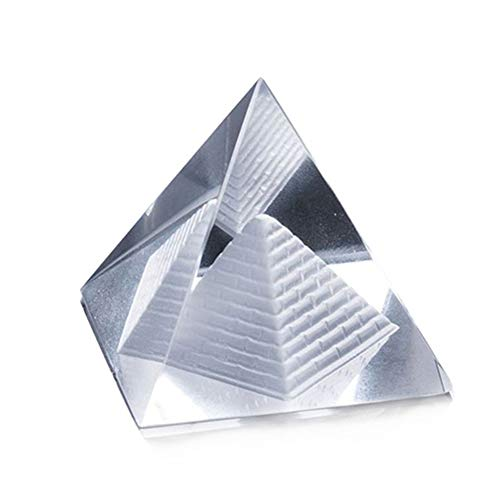 DAYOLY Optisches Glas Prisma RGB-Dispersionsprisma X-Cube Lichtspektrum Pädagogisches Modell für die Physik Fotografie lehren Dekoration Art (10cm)