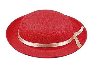 Boland 55512Mini Sombrero Fieltro Dazzler Rojo