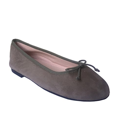 Bailarina by SKA , Ballerines pour femme Taupe