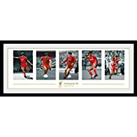GB eye Liverpool FC Legends Framed Photograph,30x12 inches