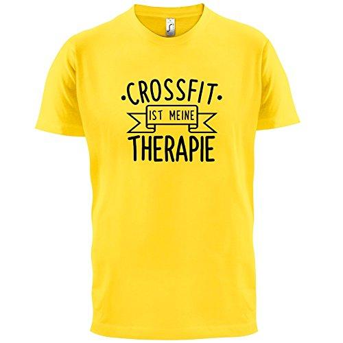 Crossfit ist meine Therapie - Herren T-Shirt - 13 Farben Gelb