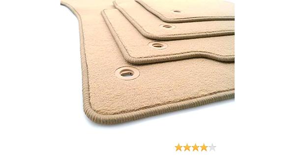 Fußmatten Passend Für Phaeton Automatten 4 Teilig Velours Beige Auto