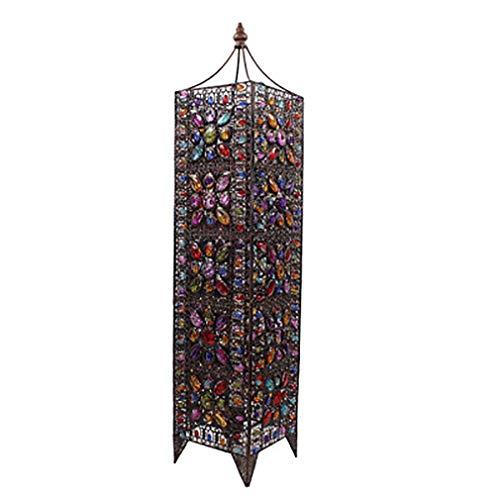 Lampada da terra in stile Tiffany Lampada da terra retrò nordica per soggiorno in stile europeo classico lampada da terra lampada da tavolo camera da letto