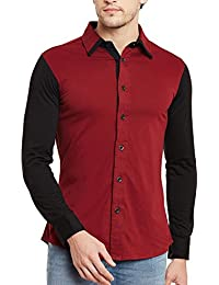 GRITSTONES Men's Full Sleeves Shirt