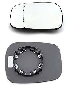doctorauto dr165451 miroir glace verre de r troviseur ext rieur gauche droiteavec le. Black Bedroom Furniture Sets. Home Design Ideas