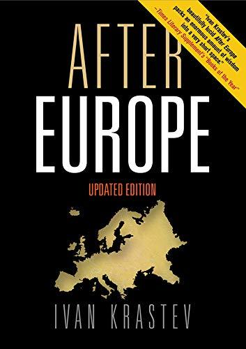 After Europe (English Edition) eBook: Krastev, Ivan: Amazon.es ...