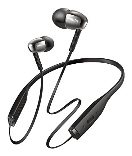 Philips shb5950bk auricolare in-ear wireless, bluetooth, nero