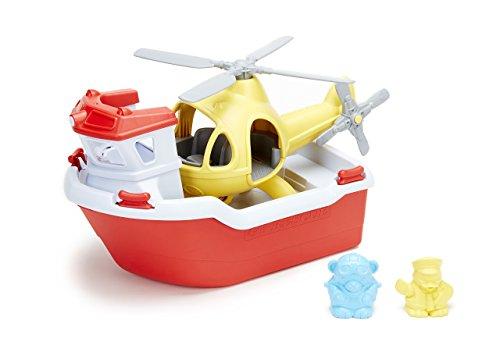 Unbekannt RBH1-1155 Rettungsboot mit Hubschrauber Wasserspielzeug, Multi