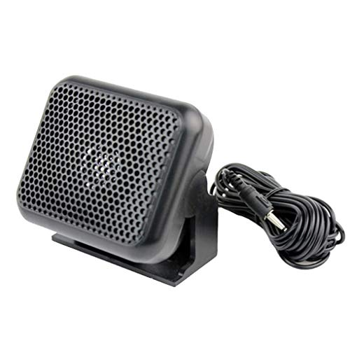 Morza NSP-100 Mini Externe Lautsprecher 3,5-mm-Stecker kompatibel für Yaesu Kenwood ICOM Motorola Ham Radio - Ham-radio-lautsprecher