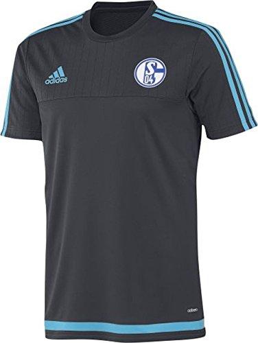 Adidas Camiseta de FC Schalke 04 de Entrenamiento para Hombre Talla:Extra-Small