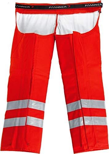 Pfanner Schnittschutz Beinlinge Klasse 1 804132, Farbe:rot, Größe:Uni