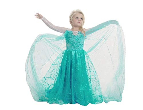 Neue Kostüm Mädchen - Inception Pro Infinite Mntllvrd150 - Neues Modell - ELSA Kostüm - Mädchen 9 - 10 Jahre