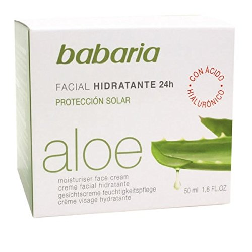 babaria AloeVera Feuchtigkeitscreme 24Std 50ml