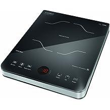 Caso Inducción Slim Line 2000 Cocina de inducción, 230 V, 274 mm X 356 mm x 58 mm, negro