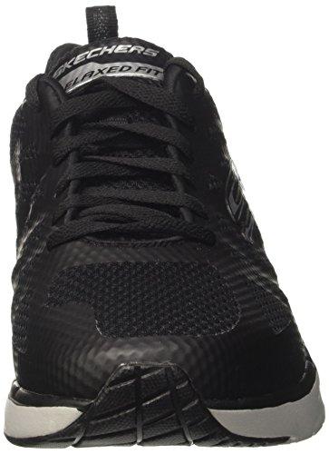 Skechers Skech-Air Infinity-Kilgor, Scarpe Running Uomo Nero (Black/gray)