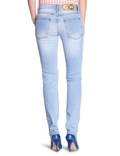 Cheap Monday Damen Jeans Slim Blau (Heavy Washed)